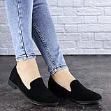 Женские туфли черные Elmo 1939 (36 размер), фото 4