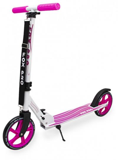 Самокат двухколесный Maraton Fox Pro розовый (GS07048)