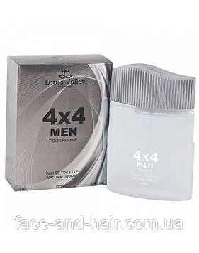 4x4 Lotus Valley Men EDT 100 ml арт.32006