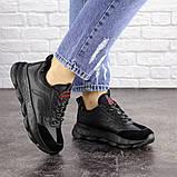 Женские черные кроссовки Huffer 1663 (38 размер), фото 4