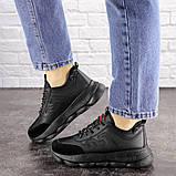 Женские черные кроссовки Huffer 1663 (38 размер), фото 7