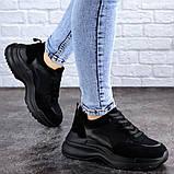 Женские черные кроссовки Mishu 2041 (37 размер), фото 2