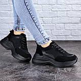 Женские черные кроссовки Mishu 2041 (37 размер), фото 5