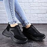 Женские черные кроссовки Mishu 2041 (37 размер), фото 6