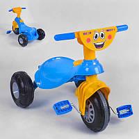 Детский велосипед Pilsan My Pet 07-132 (1) ЖЁЛТО-СИНИЙ