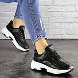 Женские черные кроссовки Noble 1672 (37 размер), фото 4