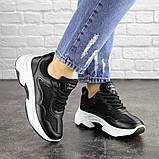Женские черные кроссовки Noble 1672 (37 размер), фото 6