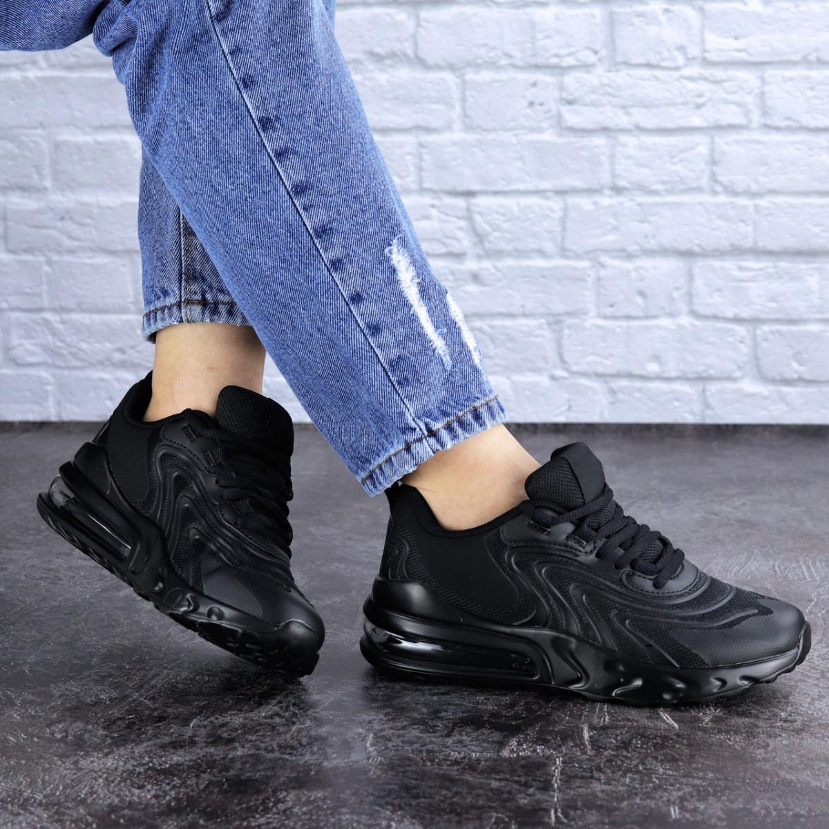 Женские черные кроссовки Person 1729 (36 размер)