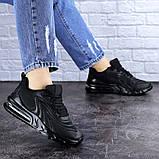Женские черные кроссовки Person 1729 (36 размер), фото 3