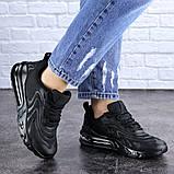 Женские черные кроссовки Person 1729 (36 размер), фото 4