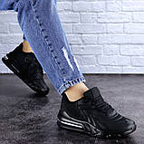 Женские черные кроссовки Person 1729 (36 размер), фото 5