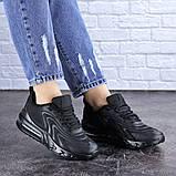 Женские черные кроссовки Person 1729 (36 размер), фото 6