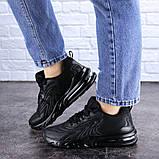 Женские черные кроссовки Person 1729 (36 размер), фото 7
