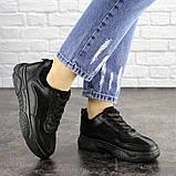 Женские черные кроссовки Rosco 1674 (37 размер), фото 4