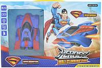 Радиоуправляемая игрушка (Антигравитационная машинка) Heroes Wall Climber 3299 Super Man