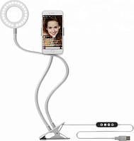 Кольцевая лампа с держателем Professional Live Stream, селфи-кольцо