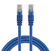 Патчкорд, витая пара для интернета LAN CAT5 30 метров Blue (3076)