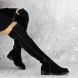 Женские ботфорты Dave черные 1348 (36 размер), фото 2