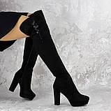 Женские ботфорты Katrina черные 1414 (38 размер), фото 2