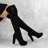 Женские ботфорты Katrina черные 1414 (38 размер), фото 3
