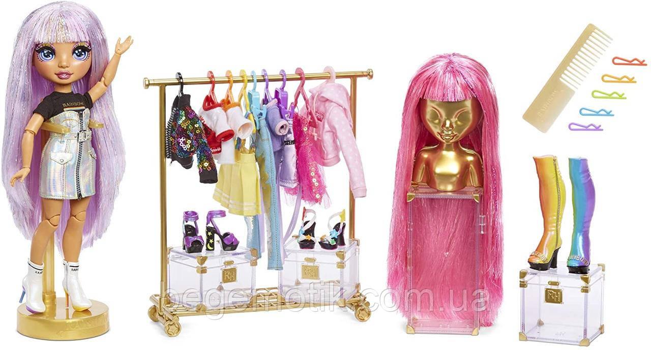 Рейнбоу Хай Набор с Куклой Модная студия Єйвери Стайлз Rainbow High Fashion Studio Avery Styles