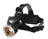 Налобный фонарик Police BL- T619 (2 зарядных, 2 аккумулятора)