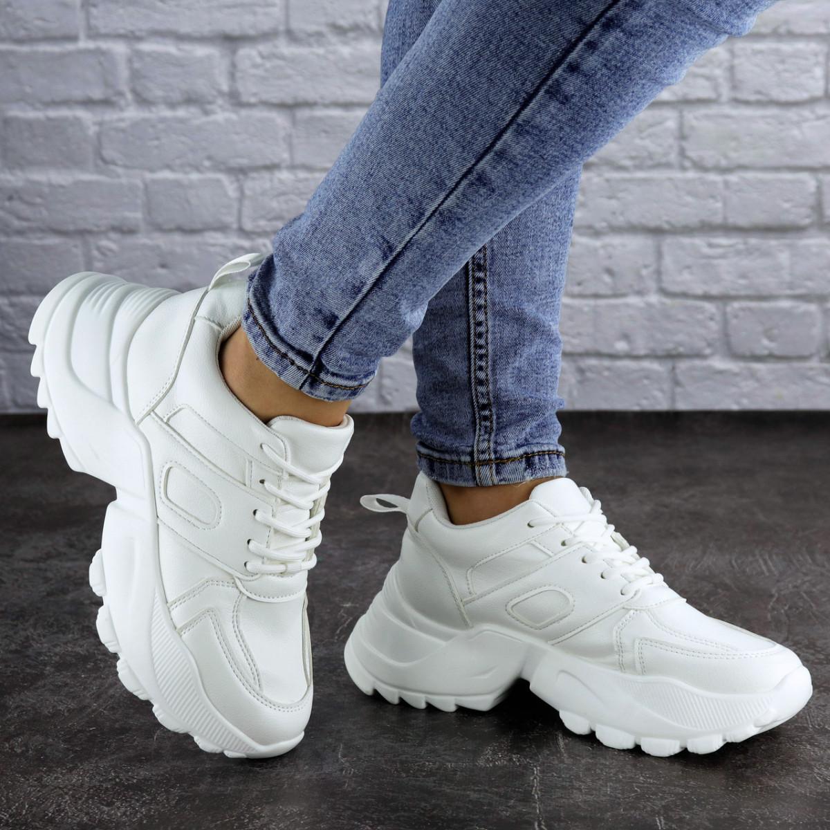 Кроссовки женские белые Avi 2105 (36 размер)