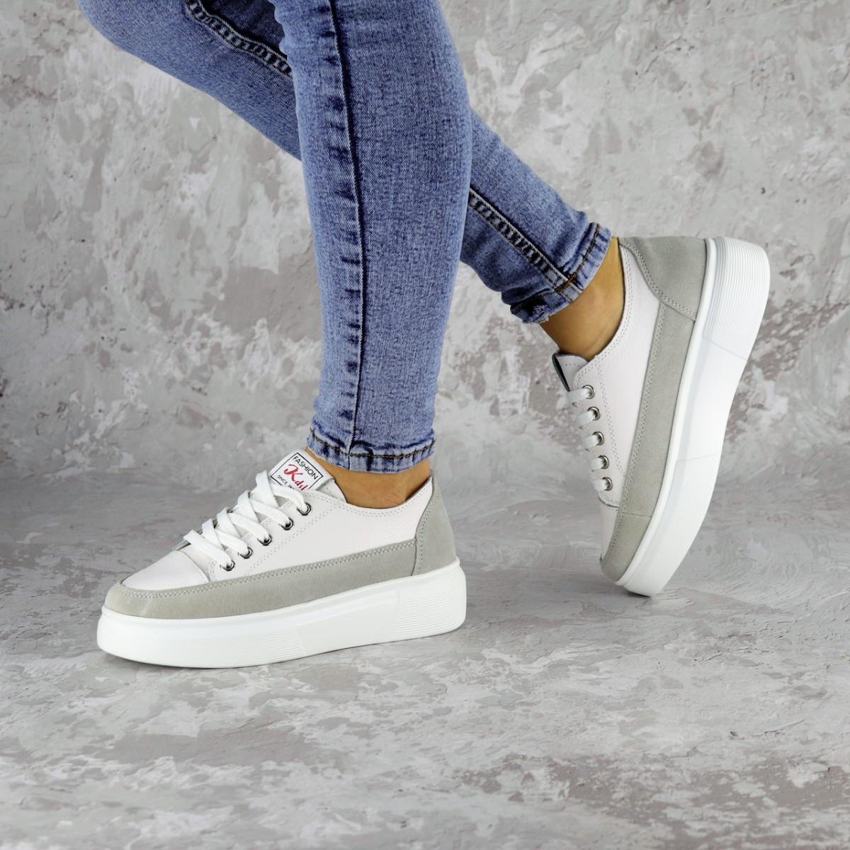 Кроссовки женские белые Ether 2269 (37 размер)