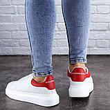 Кроссовки женские белые Kingsly 2133 (36 размер), фото 6