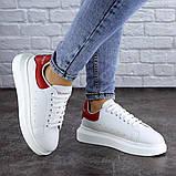 Кроссовки женские белые Kingsly 2133 (36 размер), фото 7