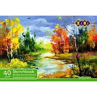 Акция. Альбом для малювання, А4, 40 аркушів, 100 г/м2, клеєний блок Киев. также Подарок