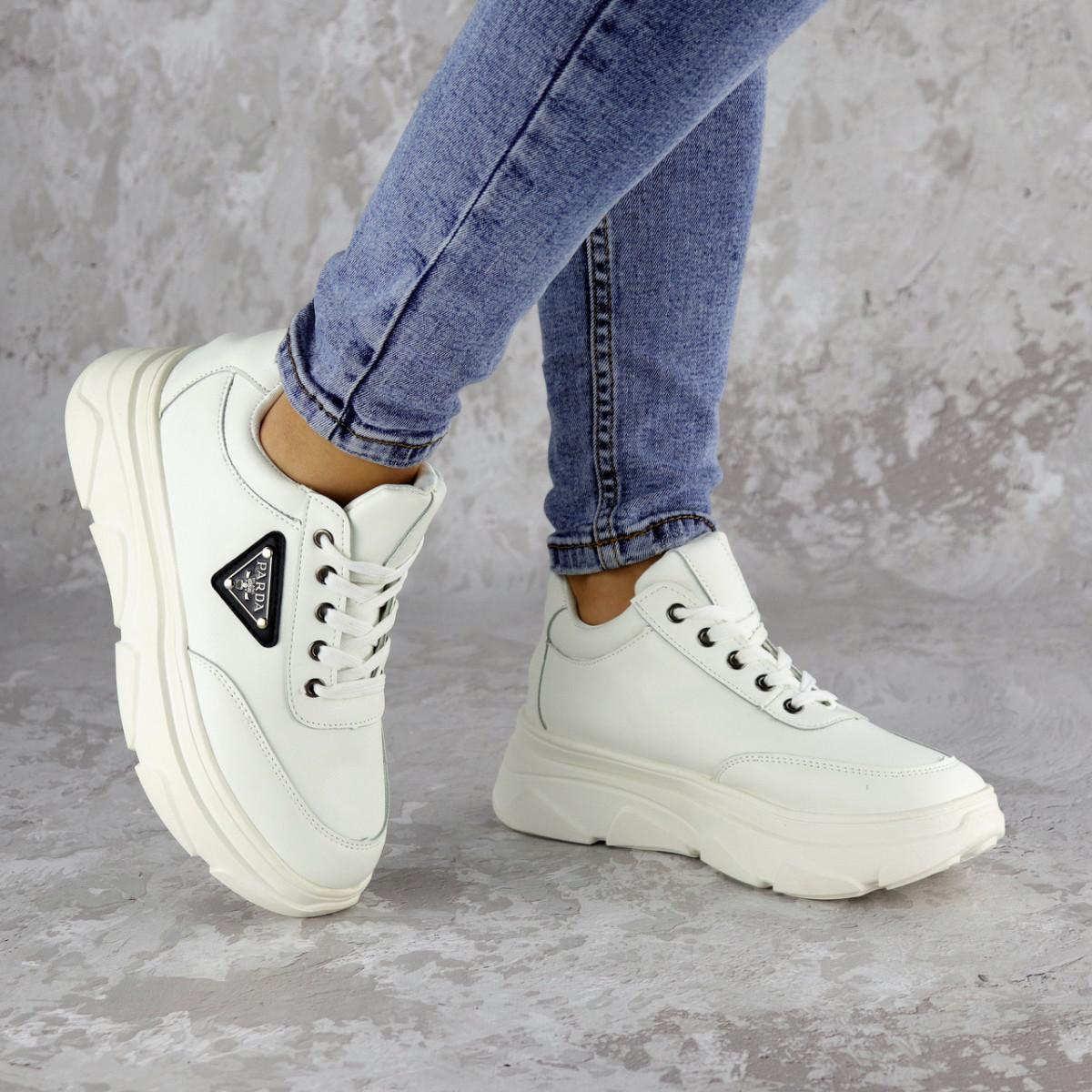 Кроссовки женские белые Precious 2136 (36 размер)