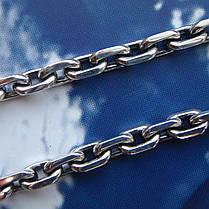 Срібна ланцюжок, 650мм, 50 грам, якірний плетіння, фото 3