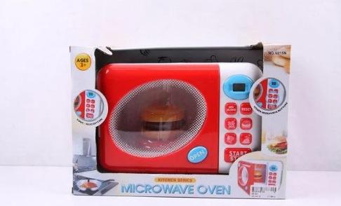 Микроволновка   вращ. тарелка, продукти, свет