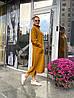 Теплое БАТАЛЬНОЕ вязаное платье под горло с 44 по 62 размер, фото 2