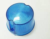 Стекло поворотов круглое МТ ИЖ высокое  синие