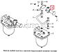 37.1141010 Насос предпусковой прокачки топлива КАМАЗ ЕВРО-1 на бак (пр-во ЯЗДА), фото 7