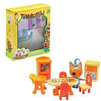 """Игровой набор """"Три кота: Столовая"""", три кота,мягкие игрушки,детские игрушки,набор,фигурки"""