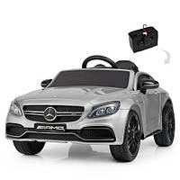 Дитячий електромобіль Bambi M 4010 EBLR-1 Mercedes, білий