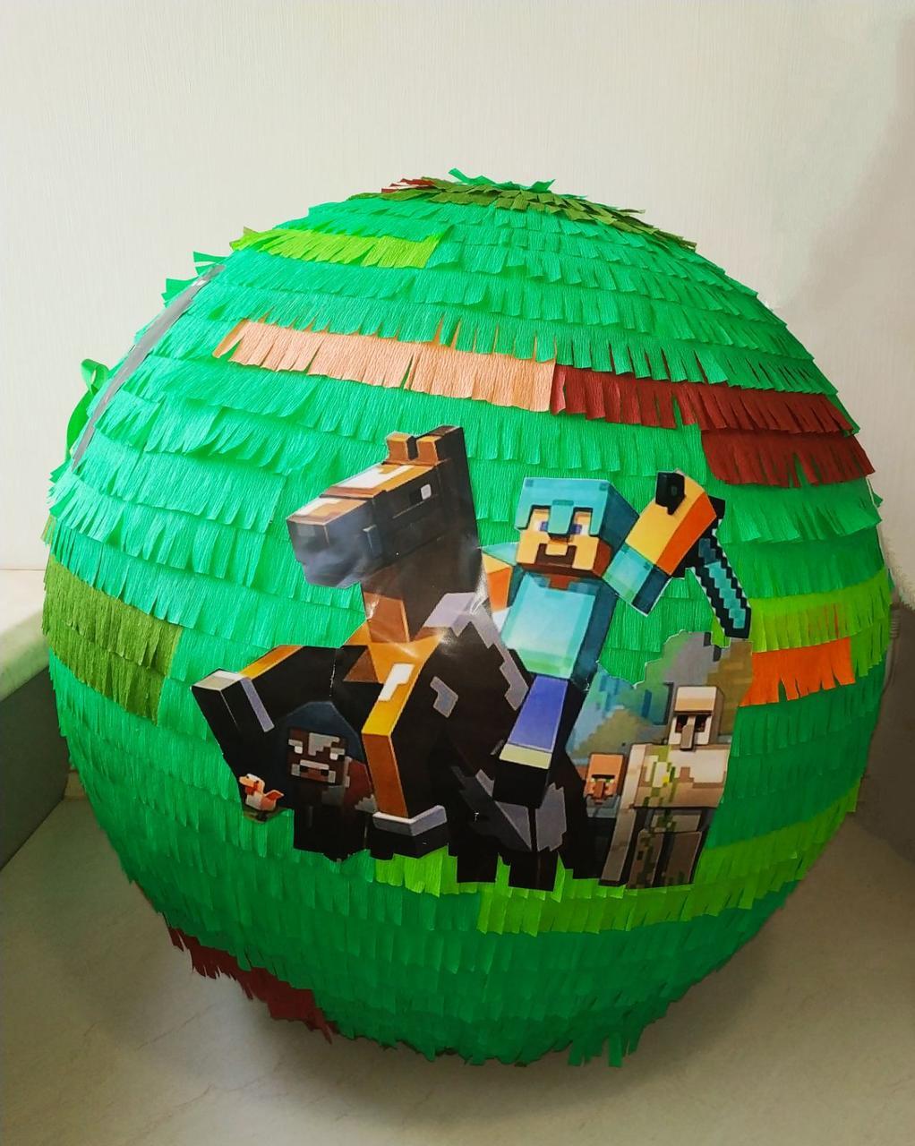 Пиньята - шар с сюрпризом Майнкрафт г. Одесса