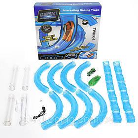 Ігровий набір Chariots Speed Pipes на р/у 27 деталей Синій КОД: 46394