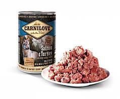 Консервы для собак Carnilove Salmon & Turkey for adult dogs (лосось/индейка) 400 г