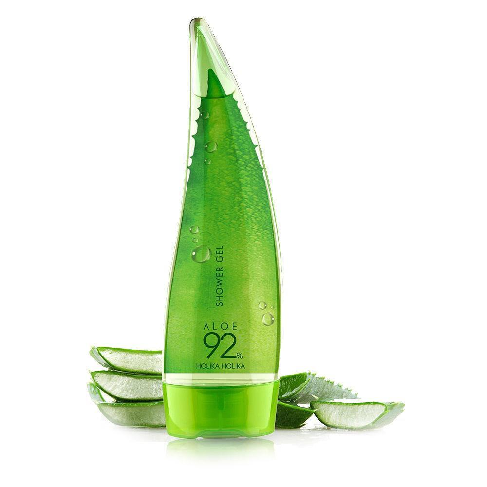 УЦЕНКА! Успокаивающий гель для душа с алоэ Holika Holika Aloe 92% Shower Gel (250мл)