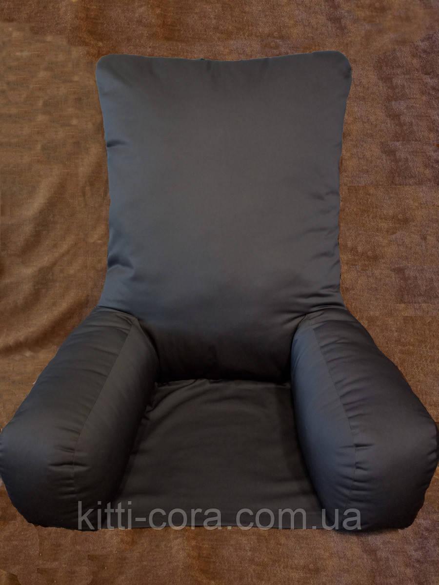 Большая ортопедическая подушка для чтения с нижней основой. Модель Комфорт+. Цветная или Белая. Без наволочки