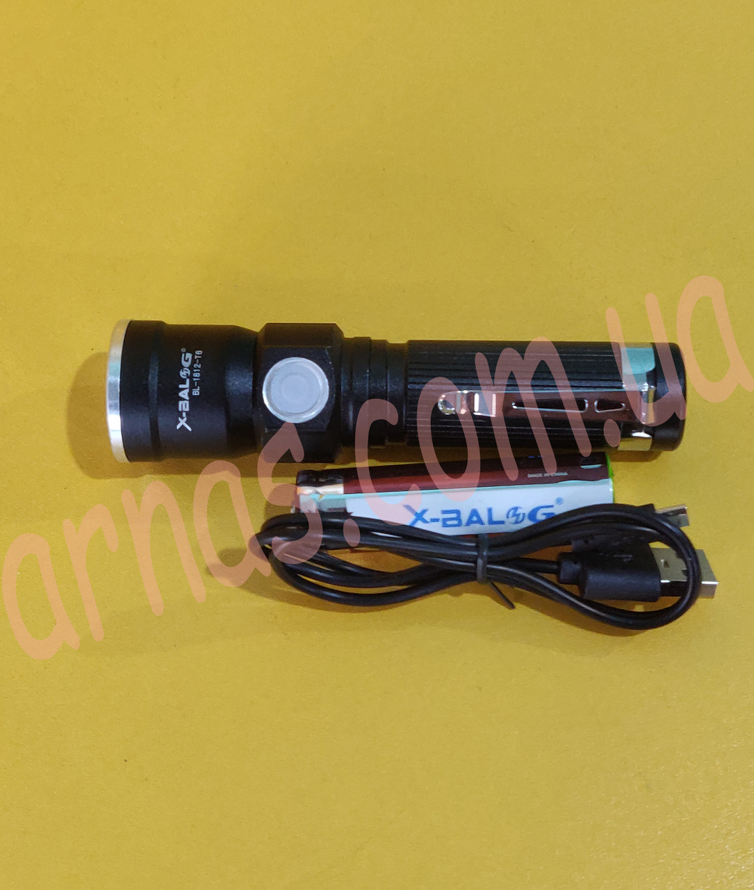 Акумуляторний ліхтар BL-807