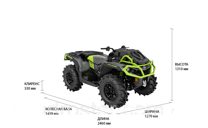Квадроцикл Brp CAN-AM OUTLANDER X MR 1000R+ 2021
