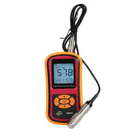 Прилад для перевірки ЛКП автомобіля HD-дисплей nFe, 0-1500мкм BENETECH GM280