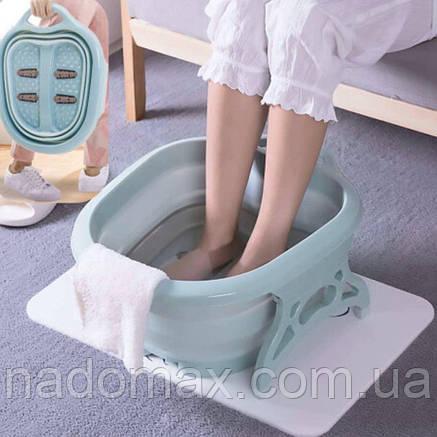 Складная ванночка для массажа ног, фото 2