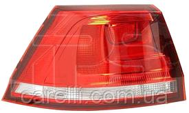 Фонарь задний правый внешний светлый WAGON для VW GOLF VII 2013-17