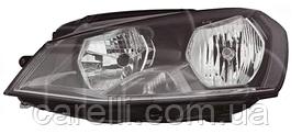 Фара левая электро Н7+Н15 (тип EUR) для VW GOLF VII 2013-17